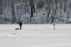 Ice Fishing on Clamshell Pond